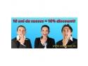 Discount aniversar de 10% la 10 ani de succes - Competent Consulting