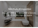 Delta Studio lanseaza 3D Competition - Concurs de Randari 3D  stand up comedy club bucuresti