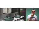 Designerul internațional Karim Rashid semnează colecția de obiecte sanitare DALET Color din portofoliul Delta Studio Dragobete