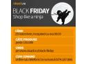 infografic okazii. Black Friday Okazii.ro va avea loc pe 29 noiembrie, începând cu ora 00.00