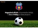 Magazinul Suporterilor Stelişti – Magazin Oficial FC Steaua Bucureşti vine de Black Friday  pe Okazii.ro