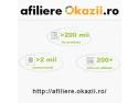 webinarii okazii ro. Programul de afiliere Okazii