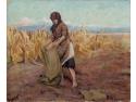 Petre Isachi. Camil Ressu - La marginea lanului