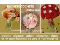 unda. Buchete nunta Unda Mai - creative, elegante, romantice, atipice sau clasice