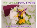 Aranjamente 8 martie. Flori creative pentru 8 Martie