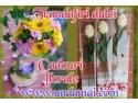 Trandafiri din ciocolata si cadouri florale pentru un 8 MARTIE minunat