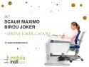 In preajma Craciunului, Moll ofera un CADOU garantat la orice set de scaun Maximo+birou Joker cumparat cosuri cadou Paste