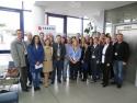 cooperare. Participantii la cea de-a doua sesiune Yokoten, desfășurată în compania TAKATA România