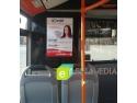 reclama. Publicitate in autobuz RATB