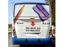 publicitate pe autobuze. No Bus Ad, No Brand