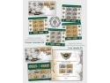 Admiră colecția numismatică a Băncii Naționale a României pe mărcile poștale