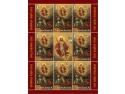 Cea mai importantă sărbătoare a creştinătăţii ilustrată pe mărcile poştale româneşti  – Sfintele Paşti 2012 –