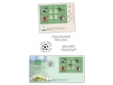 timbre cu turnul ceasului. Cupa Mondială FIFA 2014 marcată pe timbrele româneşti