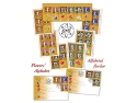 flora raducan. Descoperă alfabetul florilor ilustrat cu măiestrie pe timbrele româneşti