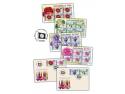 mocanița pe timbre. Flori simbol de țară, pe timbrele românești
