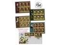 tablou. Frumusețea și pasiunea trandafirilor oglindite în mărcile poștale românești