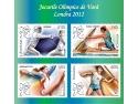 tabără de vară. Cele 4 mărci poştale ale emisiunii Jocurile Olimice de Vară, Londra 2012