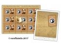 Marca poștală este alături de  Muzeul Național al Literaturii Române, la 6 decenii de la înființare
