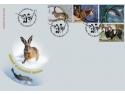 plic. Mărcile poștale românești promovează fauna națională - Vânatul și pescuitul sportiv