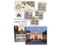 Alba. Mărcile poștale românești te invită în orașul – cetate Alba Iulia