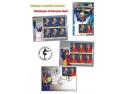 Romfilatelia. Mesageri ai sportului românesc pe mărcile poştale