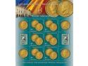 monede. Patrimoniul numismatic al Băncii Naţionale pe mărcile poştale româneşti
