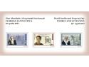 Cele trei mărci poştale ale emisiunii FEMEILE ŞI INVENTICA