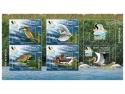 Blocul de 5 timbre al emisiunii