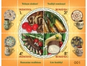 timbre. Romfilatelia continuă invitaţia prin timbre la un stil de viaţă sănătos şi o alimentaţie echilibrată