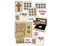 timbre cu turnul ceasului. Sfintele Paști pe timbre și în suflet