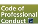 HR Enterprise. Consultare asupra noului Cod de Conduita Profesionala CIPD