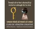 Curs de vanzari creative