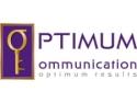 muzica pop. Grafica Logo Optimum Communication