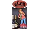 delicatese. Banner publicitar restaurant La Cave
