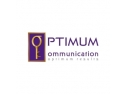 consultanta de afaceri. Design de logo Optimum Communication