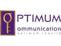 iluminare evenimente. Logo Optimum Communication