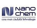 beton. Logo Nanochem srl Romania