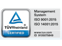 academia tuv. certificate ISO
