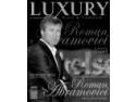coperta. Roman Abramovici pe coperta noului numar al revistei Luxury