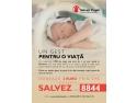 """Salvați Copiii continuă campania de strângere de fonduri prin SMS la 8844 - """"Un gest pentru o viață"""""""