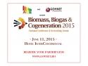 cadouri bio. Biomass, Biogas & Cogeneration 2015