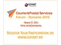 sector 4. Courier & Postal Services Forum 2015 - Provocarile unui sector in miscare