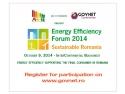 eficienta energetica. Forumul Roman de Eficienta Energetica 2014 - In sprijinul consumatorului final din Romania