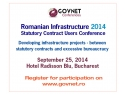 Romanian courses for foreigners. Romanian Infrastructure 2014 for Romanian Statutory Contract Users