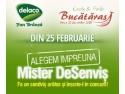 delaco branza pufoasa. Din 25 Februarie, înscrie-te şi tu la Mister DeSenvis 2014!