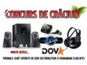 DOV Distribution organizeaza in colaborare cu Romanian Club Hits un super concurs