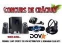 sport distribution. DOV Distribution organizeaza in colaborare cu Romanian Club Hits un super concurs