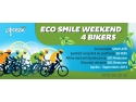 eco smile weekend 4 bikers. Green Dental da startul campaniei ECO SMILE WEEKEND 4 BIKERS