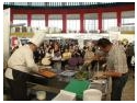 cuptor gastronomic. Horia Virlan a atras zeci de vizitatori  la demonstratiile gastronomice de la ROMHOTEL 2009