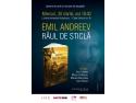 """Lansare de carte şi sesiune de autografe - """"Râul de sticlă"""" de Emil Andreev"""